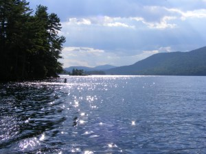 late afternoon on Lake George, 2007