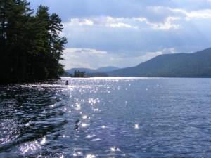 late afternoon on Lake George, 2007