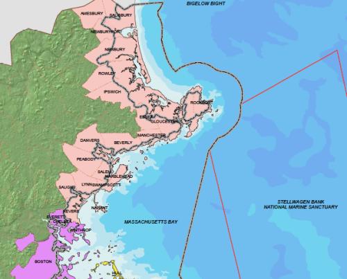 No Coastal MA map